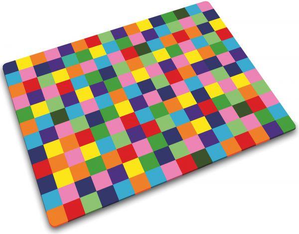 Glasschneideplatte Mosaic Tutti-Frutti rechteckig 30x40 cm