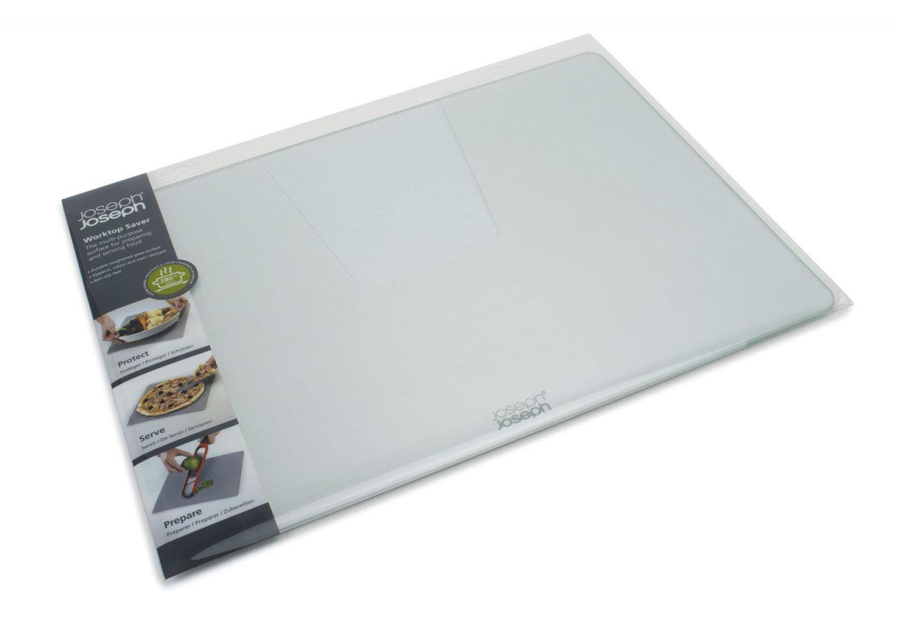 Glasschneideplatte silber, 30x40x0.7cm