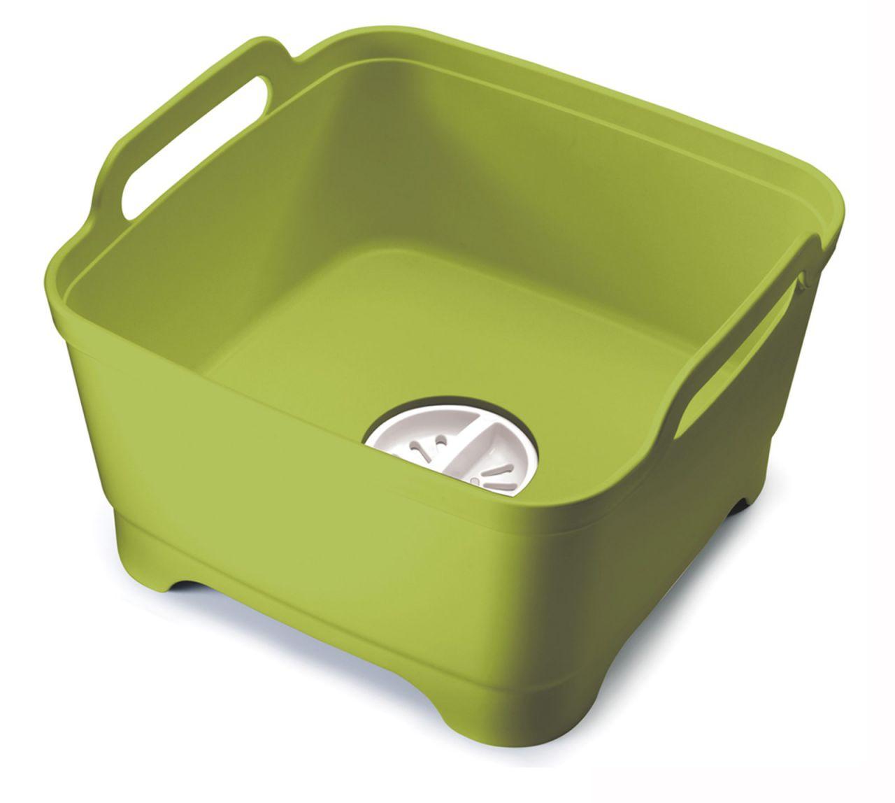 Wash&Drain Waschbehälter grün