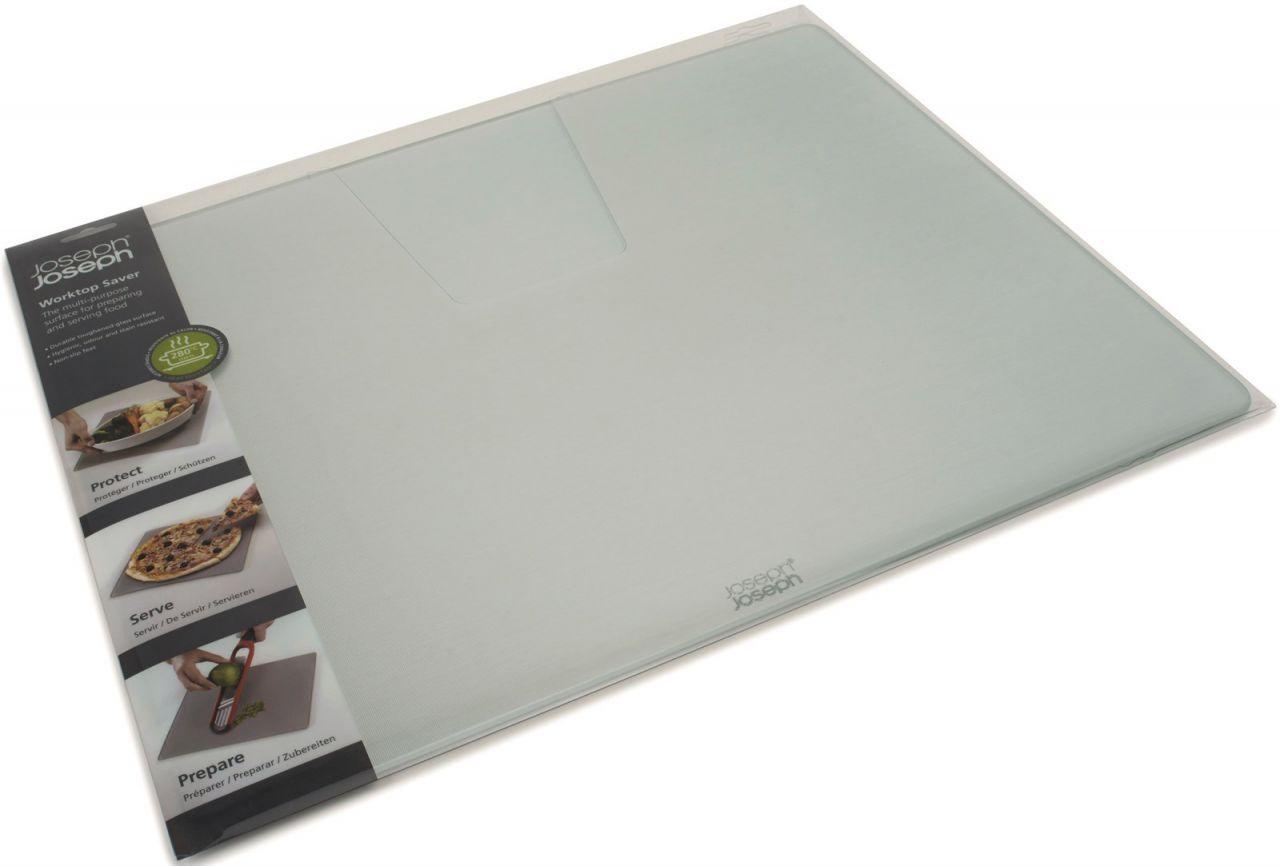 Glasschneideplatte silber, 40x50x0.7cm