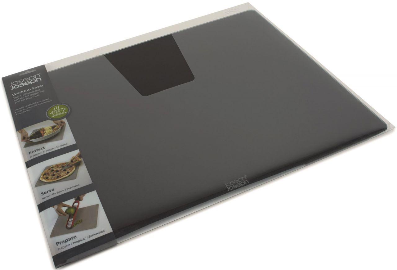 Glasschneideplatte schwarz, 40x50x0.7cm
