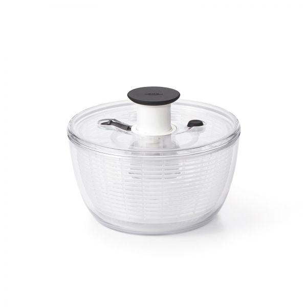 Salatschleuder, rund klein, transparent, 2.7 lt