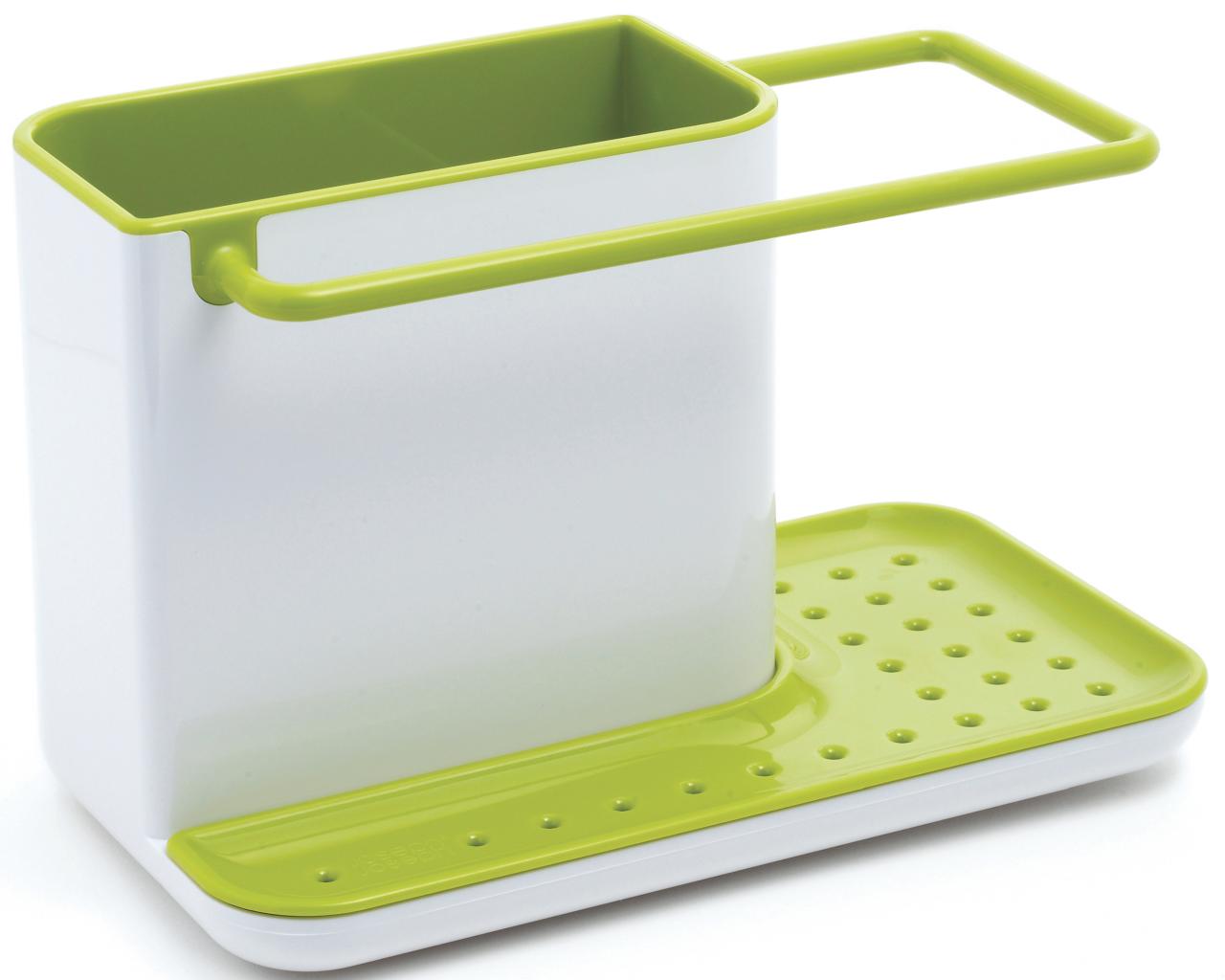 Sink Caddy weiss/grün 21x13cm